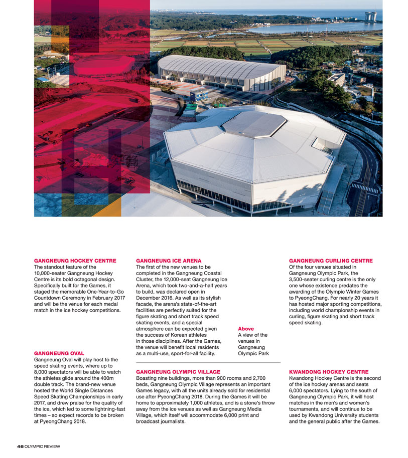 Olympic Review Issue 105